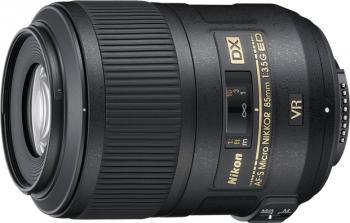 Obiectiv Foto Nikon AF-S 85mm f3.5G ED DX VR II Micro Obiective