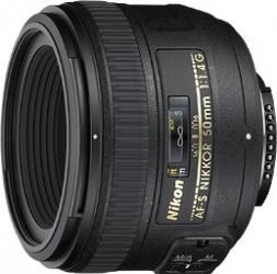 Obiectiv Foto Nikon AF-S NIKKOR 50mm f1.4G Obiective