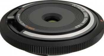 Obiectiv Foto Olympus Body Cap Lens 15mm 1 8.0 Black