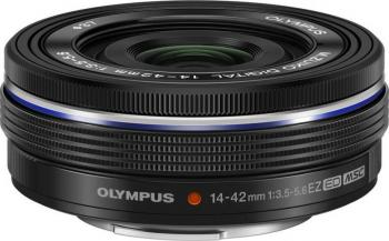 Obiectiv Foto Olympus M.ZUIKO DIGITAL 14-42mm 1 3.5-5.6 EZ Negru Obiective