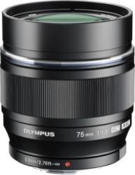 Obiectiv Foto Olympus M.Zuiko ED Digital 75mm f1.8 Black Obiective