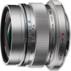 Obiectiv Foto Olympus Zuiko Digital 12mm f2.0 Silver Obiective