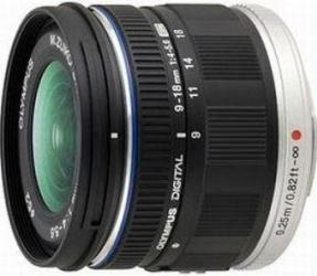 Obiectiv Foto Olympus Zuiko Digital 9-18mm f4-5.6 ED black Obiective