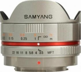 Obiectiv Foto Samyang 7.5mm 1 3.5 UMC Fisheye Micro FourThirds W