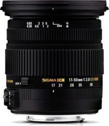 Obiectiv Foto Sigma 17-50mm f2.8 EX DC OS HSM Canon EF-S Obiective