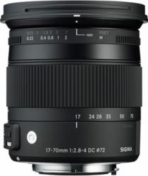 Obiectiv Foto Sigma 17-70mm f2.8-4 DC Macro OS HSM Canon EOS Obiective