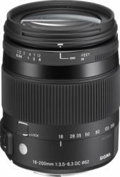 Obiectiv Foto Sigma 18-200mm f3.5-6.3 DC Macro OS HSM Canon Obiective