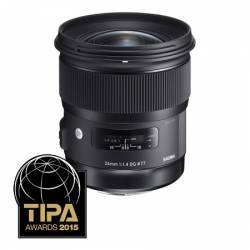 Obiectiv Foto Sigma 24mm f1.4 DG HSM Nikon Obiective