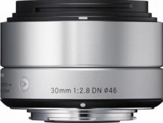 Obiectiv Foto Sigma 30mm f2.8 DN MFT Argintiu Obiective