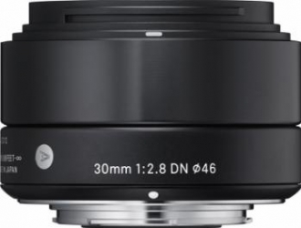 Obiectiv Foto Sigma 30mm f2.8 DN MFT Negru Obiective