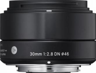 Obiectiv Foto Sigma 30mm f2.8 DN SONY-E Negru