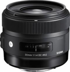 Obiectiv Foto Sigma 30mm f1.4 EX DC HSM Art Nikon Obiective