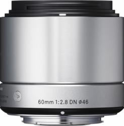Obiectiv Foto Sigma 60mm f2.8 DN MFT Argintiu Obiective