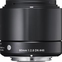 Obiectiv Foto Sigma 60mm f2.8 DN MFT Negru Obiective