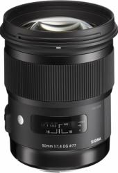 Obiectiv Foto Sigma Art 50mm f1.4 DG HSM Canon EF Obiective