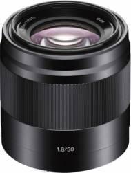 Obiectiv Foto Sony E 50mm f1.8 OSS Negru Obiective