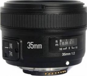 Obiectiv Yongnuo YN 35mm F2 pentru Nikon