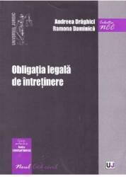Obligatia legala de intretinere - Andreea Draghici Ramona Duminica
