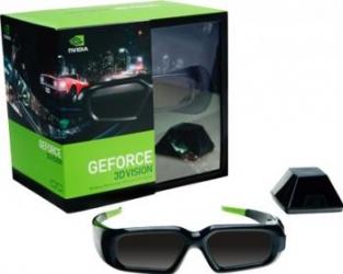 Ochelari 3D nVIDIA GeForce 3D Vision Stereoscopici + emitator