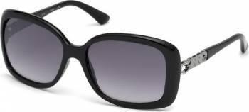 Ochelari de soare Guess Dama Black Rectangular Ochelari de soare