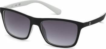 Ochelari de soare Guess Rectangular Negru Alb Ochelari de soare