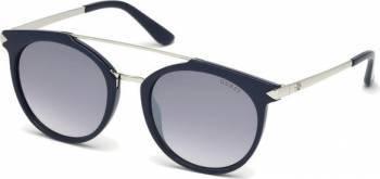 Ochelari de soare Guess Rotunzi Dama Albastru Ochelari de soare
