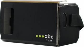 Ochelari VR ABC Tech Cardboard Negru Gadgeturi