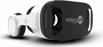 Ochelari VR Allview Visual VR4 Albi + casti Gadgeturi