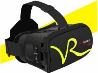 Ochelari VR Case 3D 4-5.8 inch cu touchpad si taste control, Negru Gadgeturi