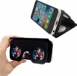 Ochelari Mini VR Star Tip Husa Negru Gadgeturi