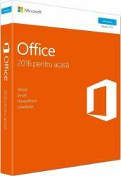 Office Home and Student 2016 Windows English EuroZone Medialess Aplicatii desktop
