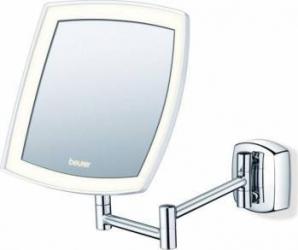 Oglinda cosmetica Beurer iluminata montabila pe perete Diametru 16 cm Marire de 5x Oglinzi Cosmetice