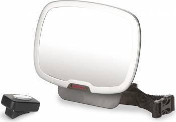 Oglinda Retrovizoare cu Lumina Easy View Plus Diono Accesorii transport