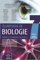 Olimpiada de biologie clasa 7 subiecte si bareme 2010-2013 - Traian Saitan