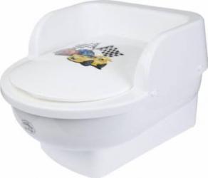 Olita Copii My Kids Throne Cars White Olite si reductoare WC