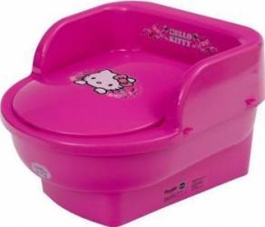 Olita copii MyKids Throne Hello Kitty Roz Olite si reductoare WC