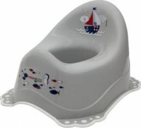 Olita muzicala MyKids Ocean Sea sistem antialunecare Gri-Alb Olite si reductoare WC