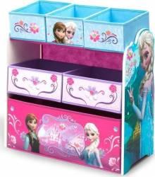 Organizator jucarii cu cadru din lemn Disney Frozen Mobila si Depozitare jucarii