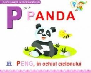 P de la Panda - Peng in ochiul ciclonului cartonat