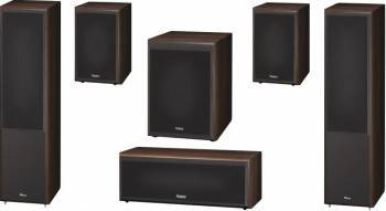 Pachet 5.1 Magnat Monitor Supreme 802 + 102 + Center 252 + Sub 202A Mocca