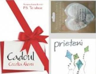 Pachet. Cadoul - Cecelia Ahern + Prieteni - Helen Exley + Magnet - Unicei mele iubiri