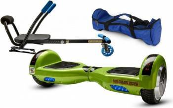 Pachet Combo Hoverkart + Hoverboard MonkeyBoard Action Green 6.5inch + Geanta transport Vehicule electrice