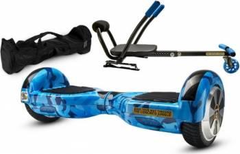 Pachet Combo Hoverkart + Hoverboard MonkeyBoard Bluebird Roller 6.5inch + Geanta transport Vehicule electrice