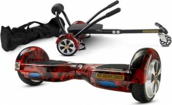 Pachet Combo Hoverkart + Hoverboard MonkeyBoard Red Waver 6.5inch + Geanta transport Vehicule electrice