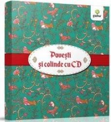 Pachet Craciun cu CD4 Povesti uitate + Legende romanesti + Cartea cu colinde Carti