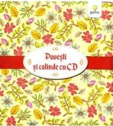 Pachet Craciun CD1 Povesti romanesti cu CD + Cartea cu colinde cu CD