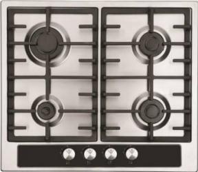 Plita incorporabila Studio Casa Duo Napoli 4 arzatoare gaz Gratare fonta Aprindere electrica Plite Incorporabile