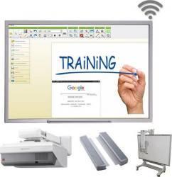 Pachet Interactiv Business Mobile SONY 101 inch - 257 cm Table si Ecrane interactive