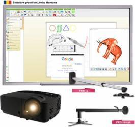 Pachet Interactiv EDU Profesional Infocus ST 94 inch - 238 cm Table si Ecrane interactive