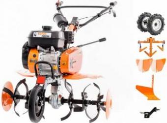 pret preturi Pachet Motosapa Ruris DAC 7009ACC2 7CP roti cauciuc + 2 rarite + cultivator + plug + adaptor